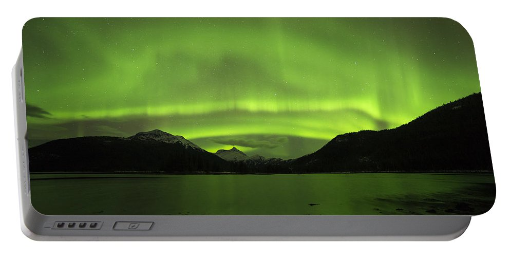 Aurora Portable Battery Charger featuring the photograph Layers by Ted Raynor