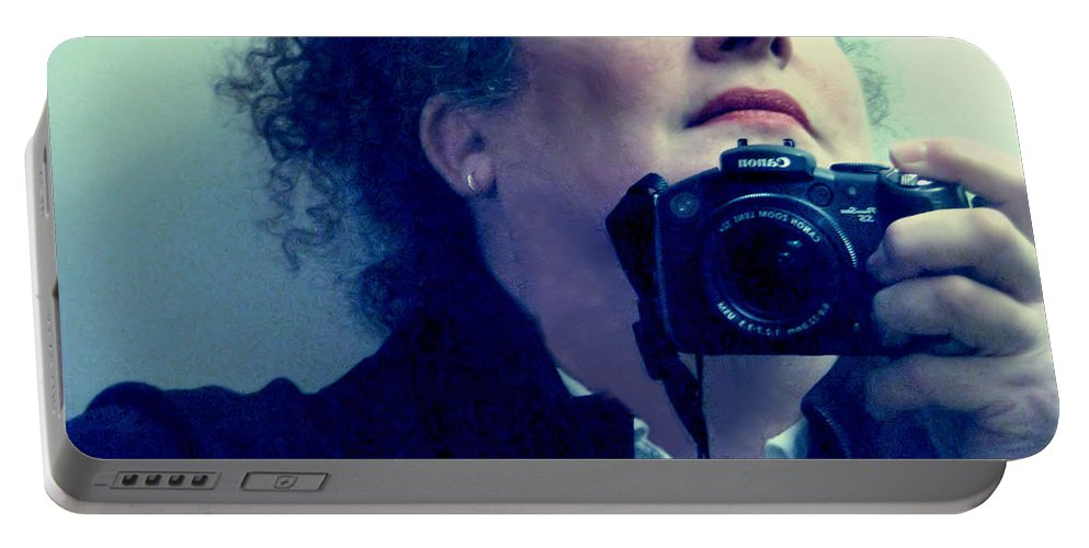 Self-portrait Portable Battery Charger featuring the photograph Looking Up by Rory Sagner