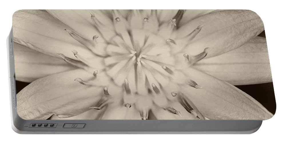 Beautiful Portable Battery Charger featuring the photograph Lotus Flower by U Schade