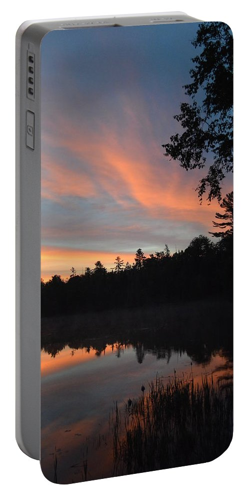 Sunrise Portable Battery Charger featuring the photograph Morning Stillness by Thomas Phillips