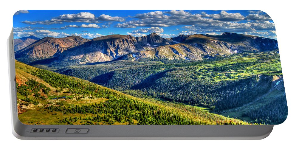 Colorado Portable Battery Charger featuring the photograph Mountain View by Scott Mahon