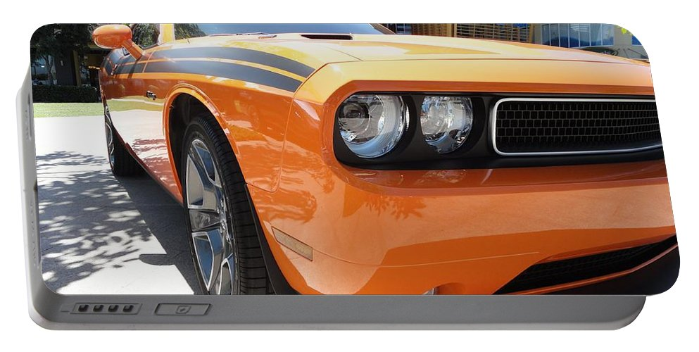 Muscle Portable Battery Charger featuring the photograph Muscle Car by FL collection