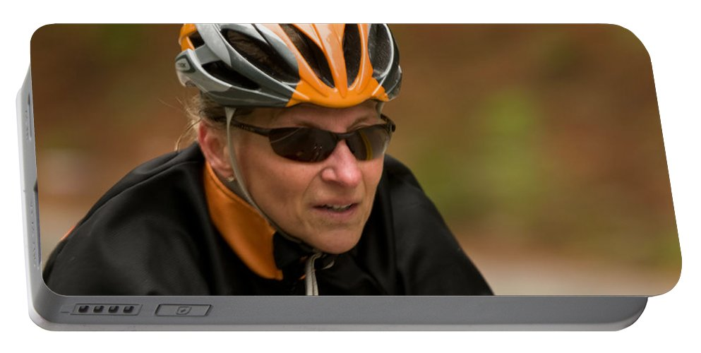 """nashua Sprint Y-triathlon"" Portable Battery Charger featuring the photograph Nashua Sprint Y-tri 14 by Paul Mangold"