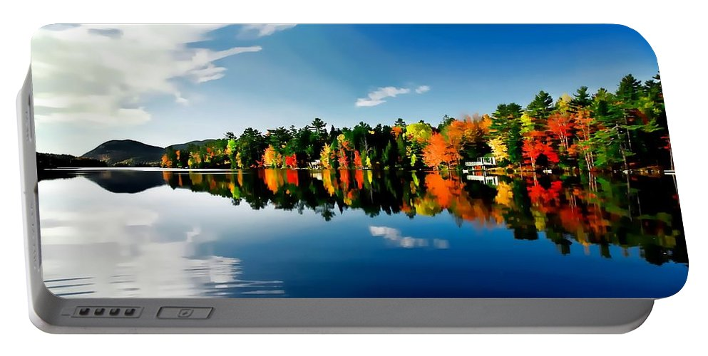New England Portable Battery Charger featuring the photograph New England by Bill Howard