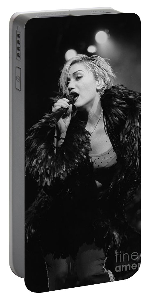Singer Portable Battery Charger featuring the photograph No Doubt by Concert Photos