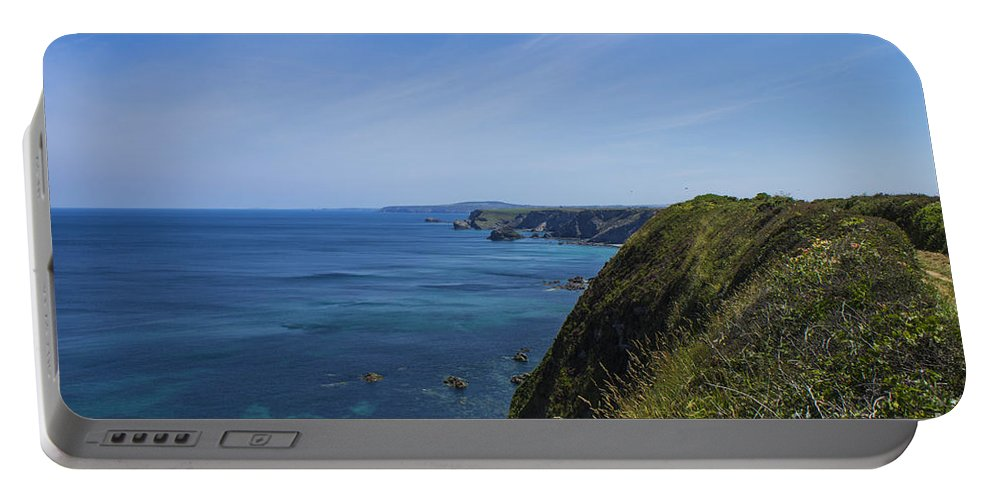 Landscape Portable Battery Charger featuring the photograph Photographs Of Cornwall North Coast Cornwall by Brian Roscorla