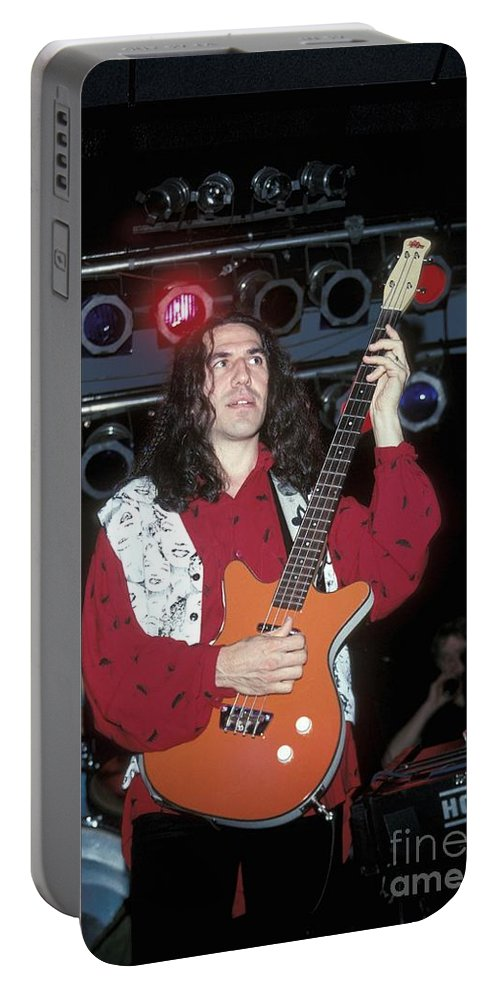 Performing Portable Battery Charger featuring the photograph Nrbq by Concert Photos