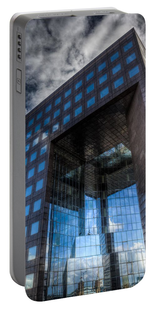 London Portable Battery Charger featuring the photograph Number 1 London Bridge by David Pyatt