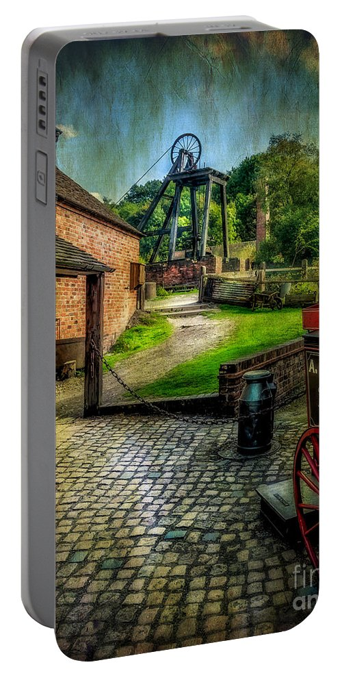 Victorian Portable Battery Charger featuring the photograph Old Mine by Adrian Evans
