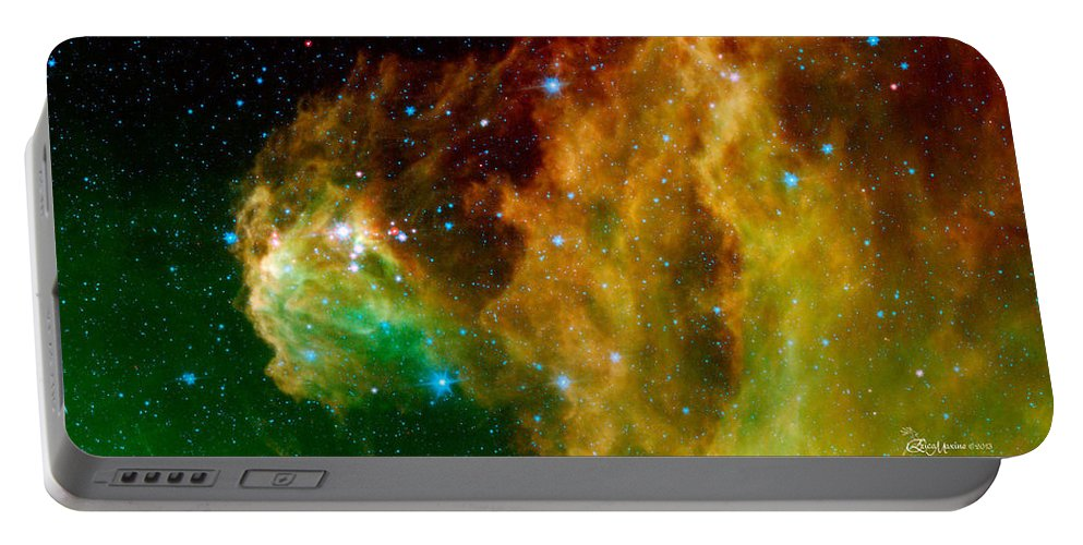 Orion Nebula Portable Battery Charger featuring the photograph Orion-nebula by Ericamaxine Price