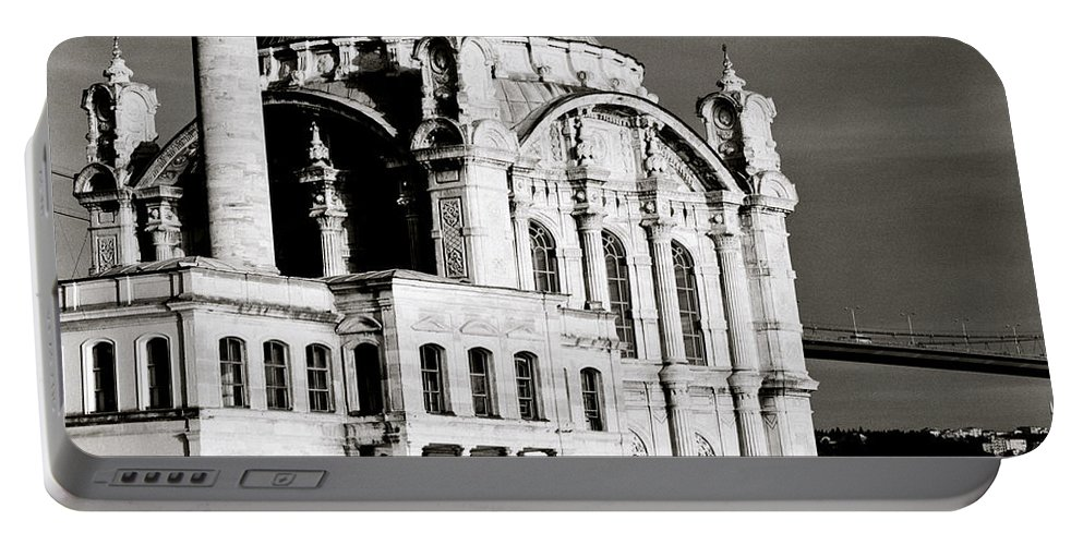 Istanbul Portable Battery Charger featuring the photograph Ortakoy by Shaun Higson