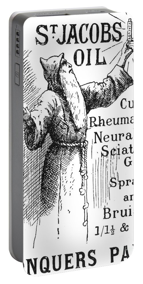 1894 Portable Battery Charger featuring the photograph Patent Medicine, 1894 by Granger