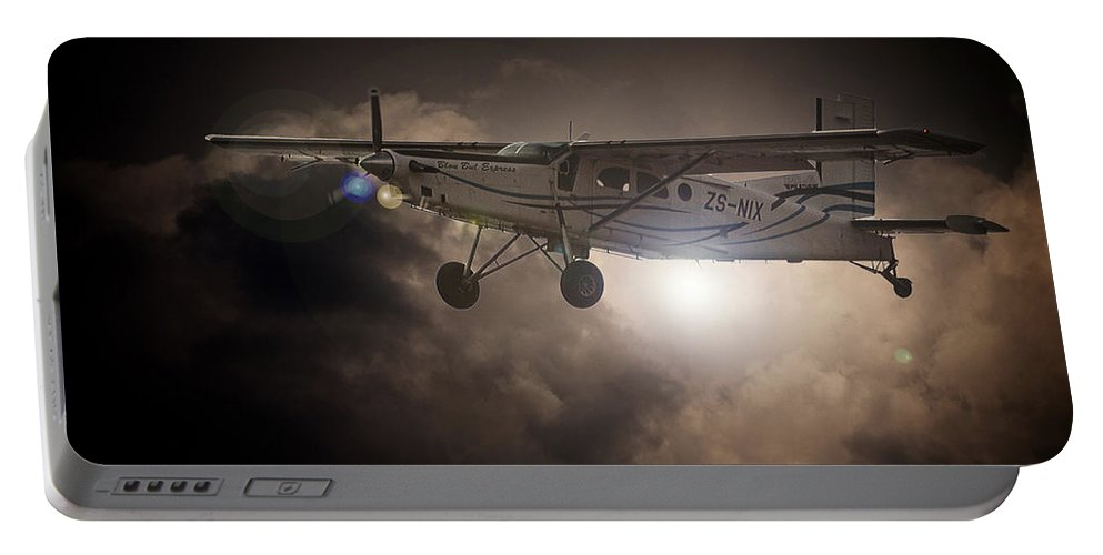 Pilatus Pc6 Porter Portable Battery Charger featuring the photograph Porter Light by Paul Job
