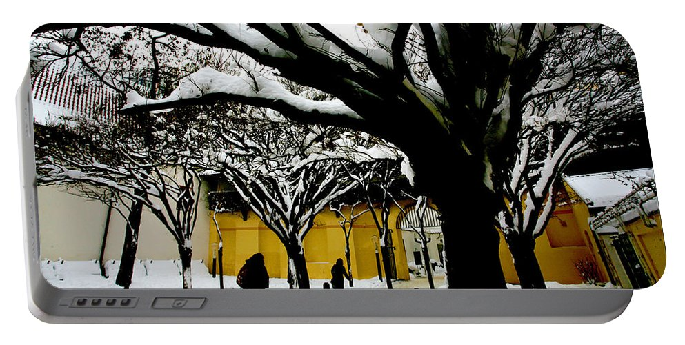 Winter Portable Battery Charger featuring the photograph Prague Winter by Paul Sutcliffe