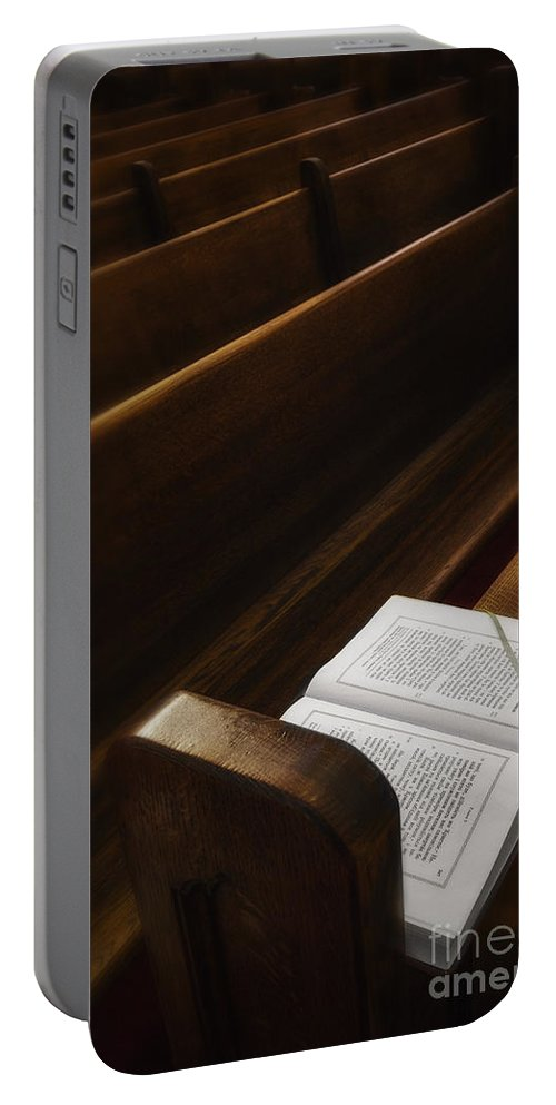 Bible Portable Battery Charger featuring the photograph Praise by Margie Hurwich