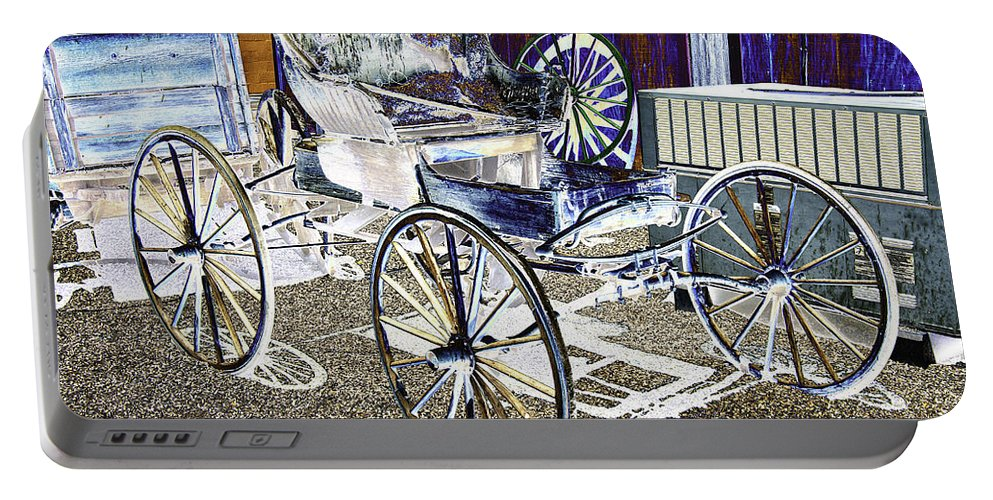 Psychedelic Portable Battery Charger featuring the photograph Psychedelic Old Surrey 1 by Peter Lloyd