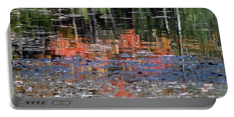 Fall Portable Battery Charger featuring the photograph Reflecting Fall by Joseph Yarbrough