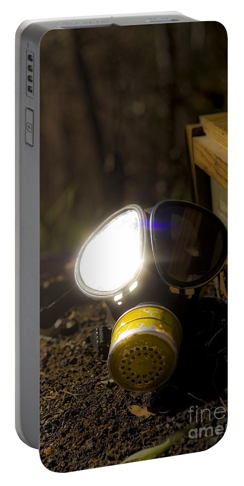 Air Portable Battery Charger featuring the photograph Reflection Of War by Jorgo Photography - Wall Art Gallery