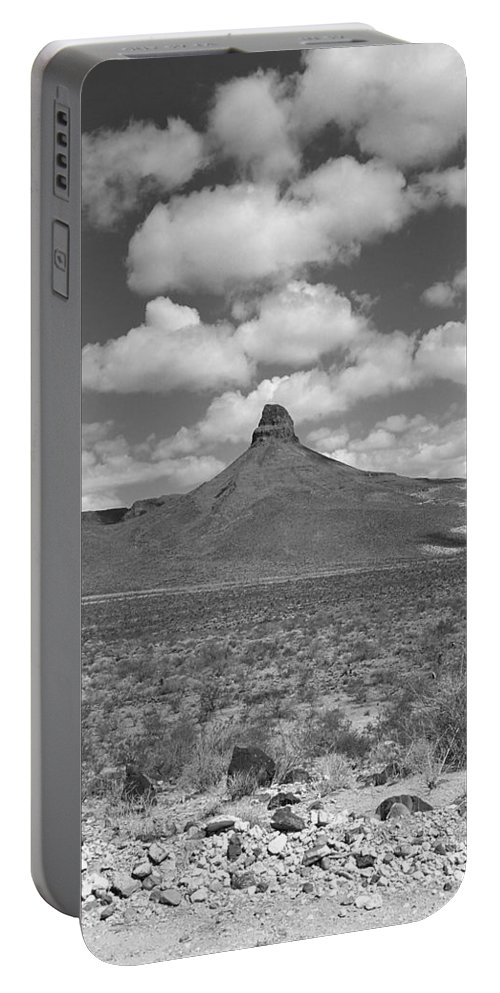 66 Portable Battery Charger featuring the photograph Route 66 - Arizona Mountain by Frank Romeo