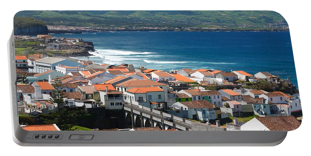 Azores Portable Battery Charger featuring the photograph Sao Miguel Island by Gaspar Avila