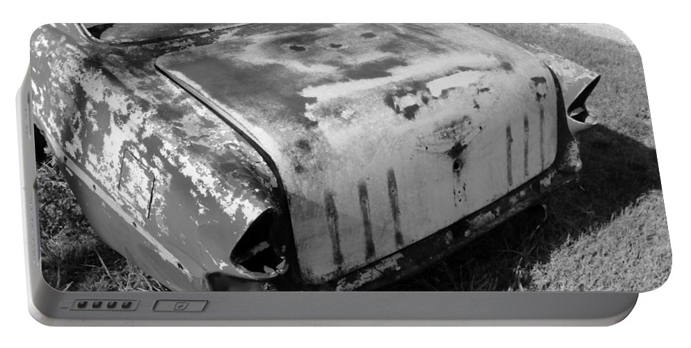 Man Made Portable Battery Charger featuring the photograph Seen Much Better Days by Glenn Aker