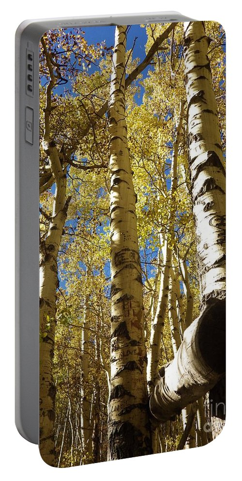 Fall Portable Battery Charger featuring the photograph Serenity by Tonya Hance