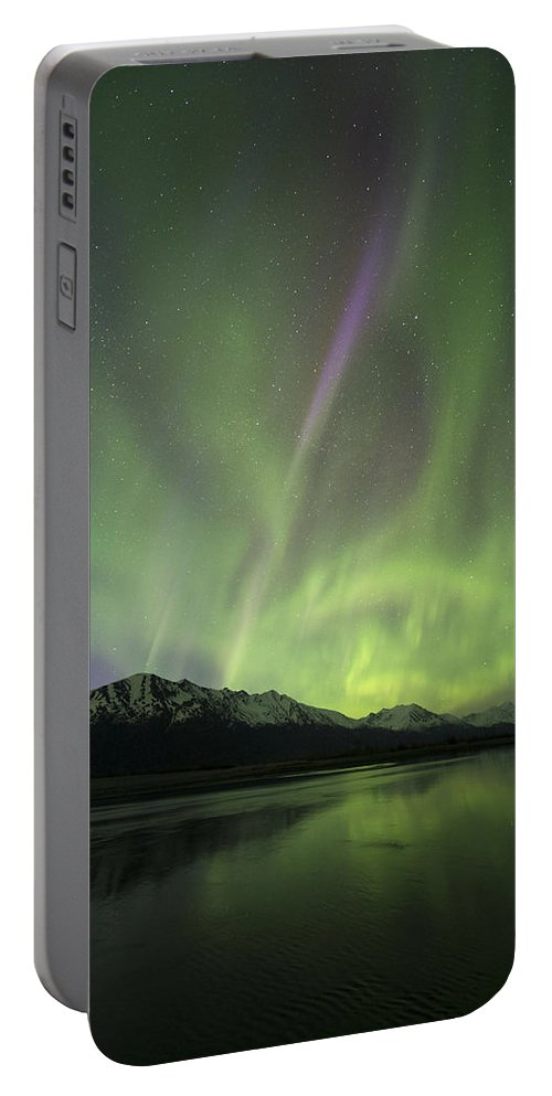 Aurora Portable Battery Charger featuring the photograph Slice by Ted Raynor