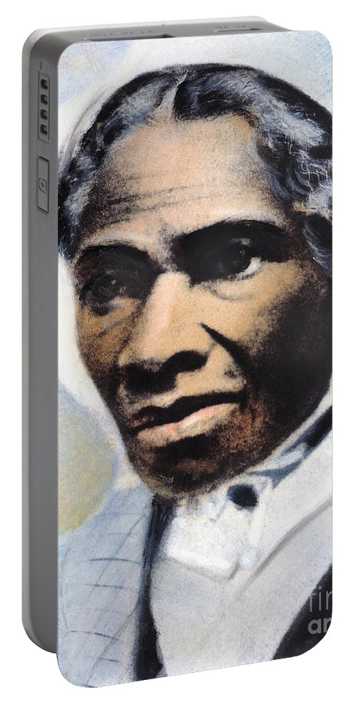 1863 Portable Battery Charger featuring the photograph Sojourner Truth by Granger