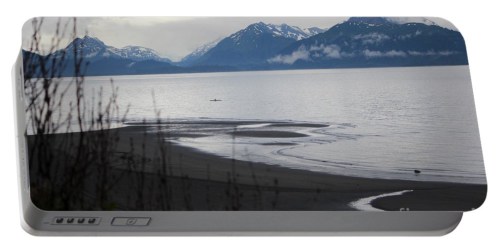 Kayak Portable Battery Charger featuring the photograph Solitude by Stacey May