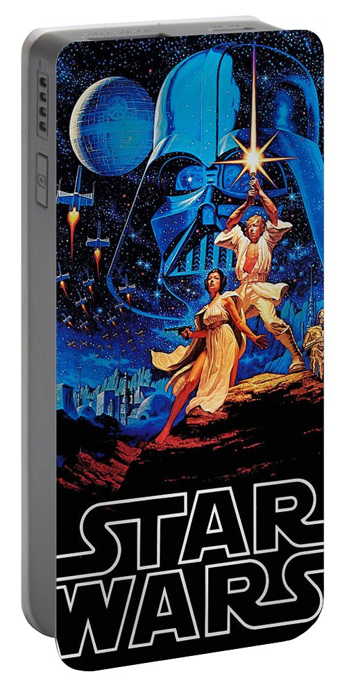 Star Portable Battery Charger featuring the drawing Star Wars by Farhad Tamim