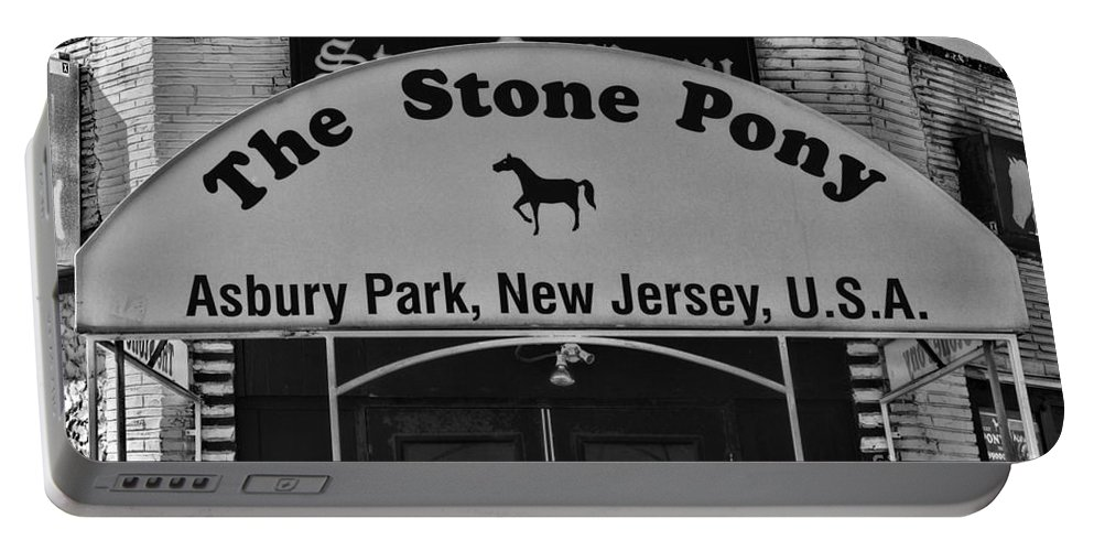 Paul Ward Portable Battery Charger featuring the photograph Stone Pony by Paul Ward