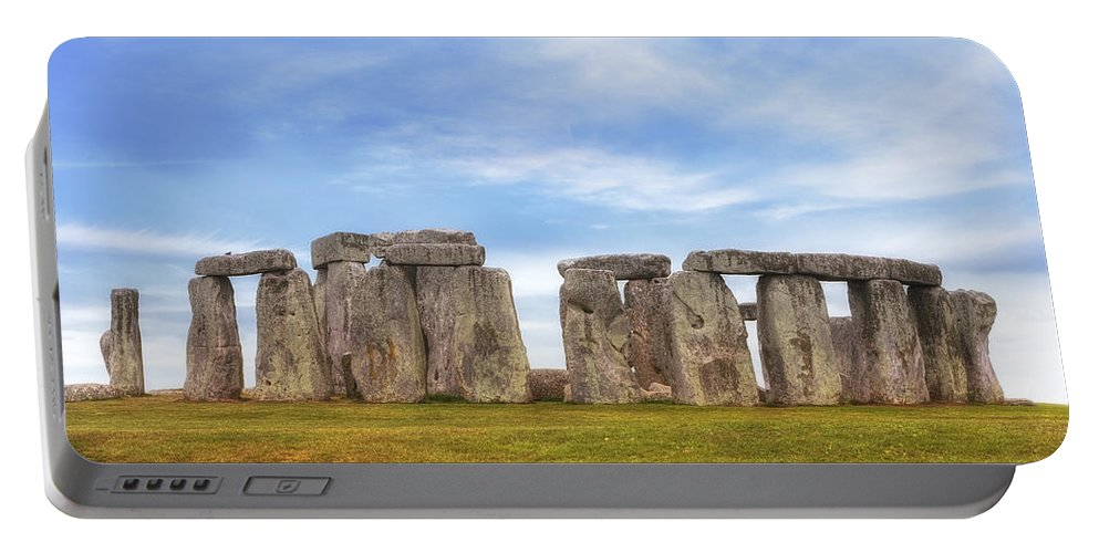 Stonehenge Portable Battery Charger featuring the photograph Stonehenge by Joana Kruse