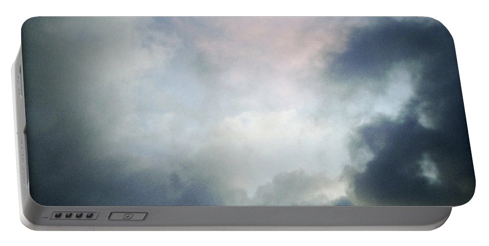 Clouds Portable Battery Charger featuring the photograph Storm Clouds by Les Cunliffe