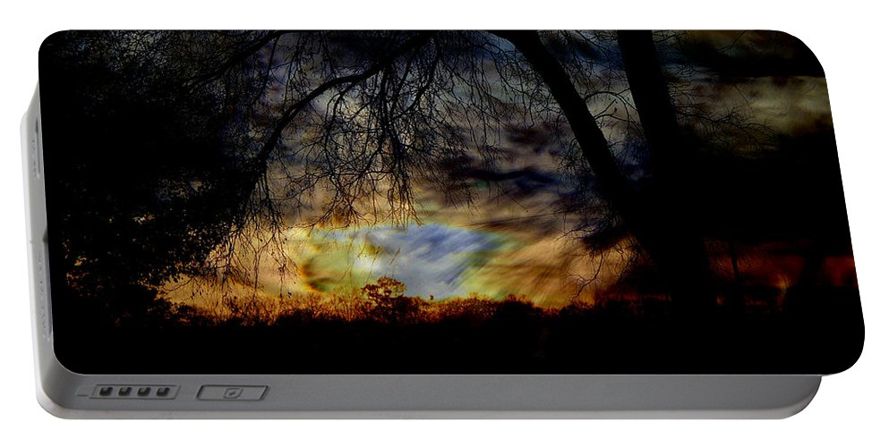Storm Portable Battery Charger featuring the photograph Stormy Weather by Ericamaxine Price