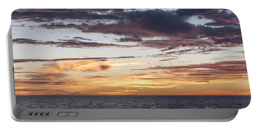 Sunrise Portable Battery Charger featuring the photograph Sunrise Over The Sea Of Cortez by Liz Leyden