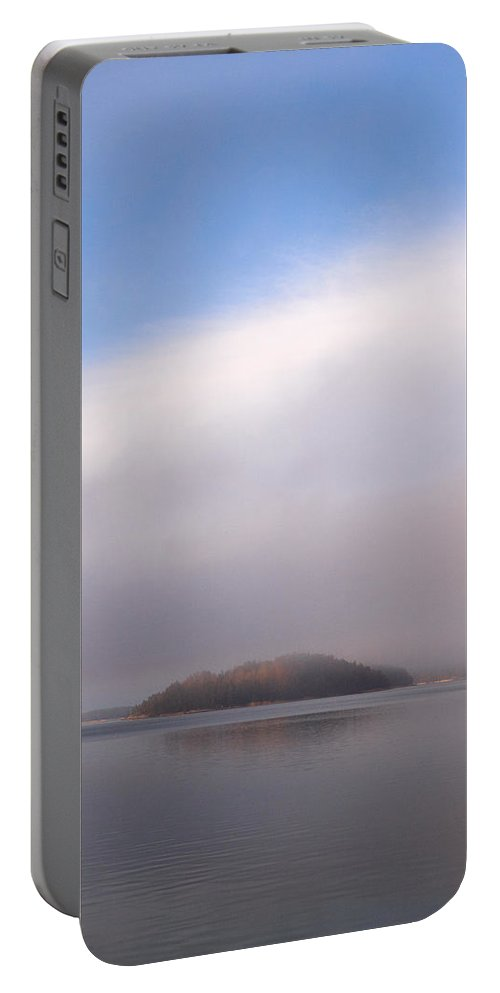 Finland Portable Battery Charger featuring the photograph Sunset At Houtskari by Jouko Lehto