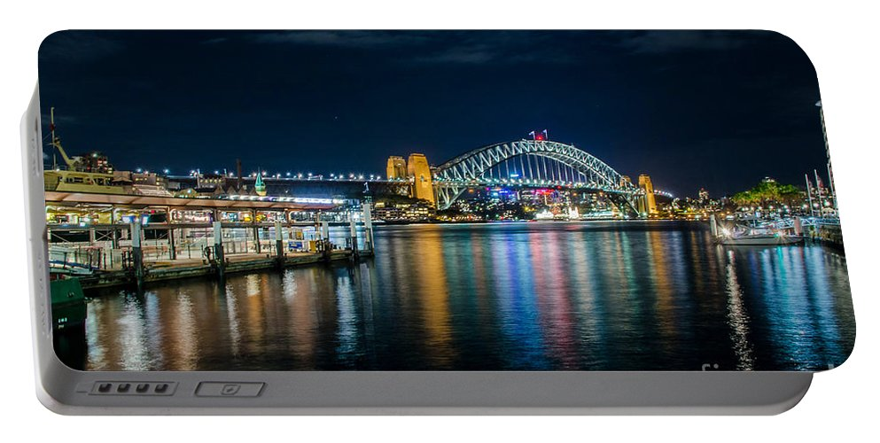 Sydney Harbour Portable Battery Charger featuring the photograph Sydney Harbour by D White