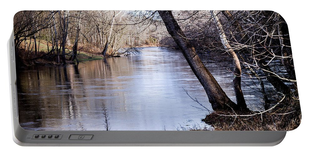 Take Me To The River Portable Battery Charger featuring the photograph Take Me To The River by Karen Wiles