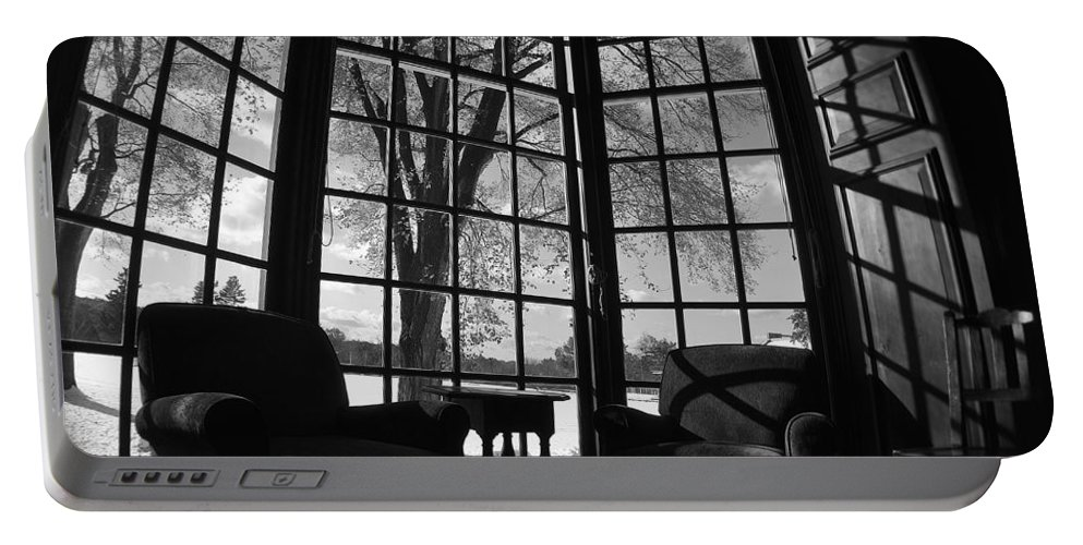 Gardner Room Portable Battery Charger featuring the photograph The Gardner Room by Marysue Ryan