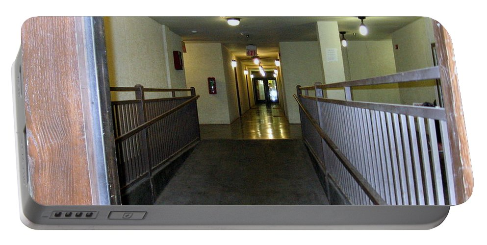 Hallway Portable Battery Charger featuring the photograph The Hall by Amy Hosp