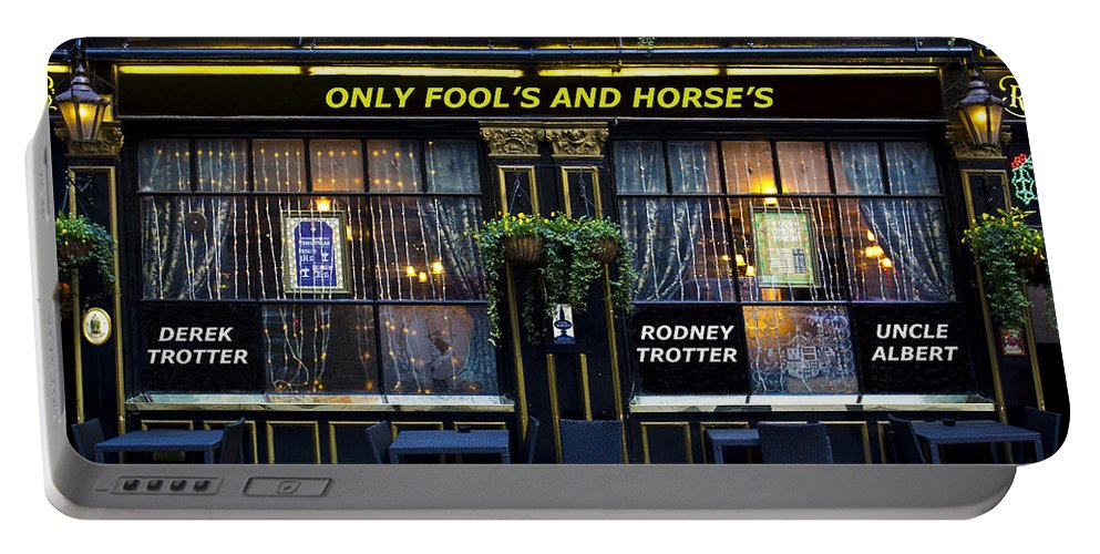 Only Fools And Horse's Portable Battery Charger featuring the photograph The Only Fool's And Horse's by David Pyatt