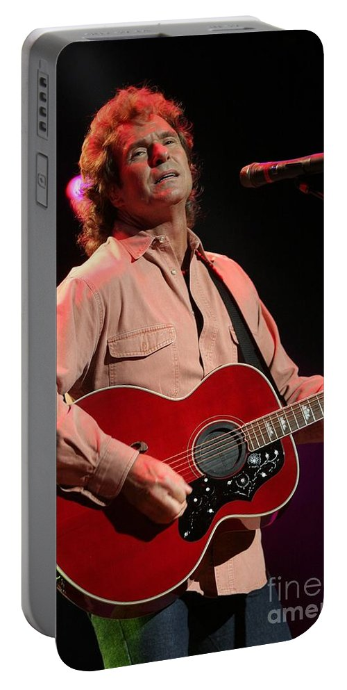 The Outlaws Portable Battery Charger featuring the photograph The Outlaws by Concert Photos