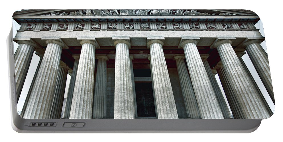 Parthenon Portable Battery Charger featuring the photograph The Parthenon by Diana Powell