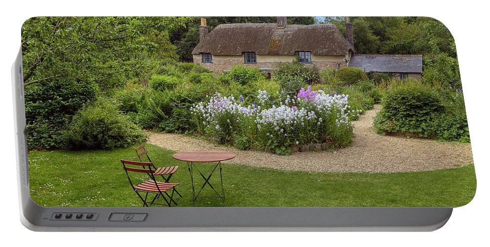 Thomas Hardy's Cottage Portable Battery Charger featuring the photograph Thomas Hardy's Cottage by Joana Kruse