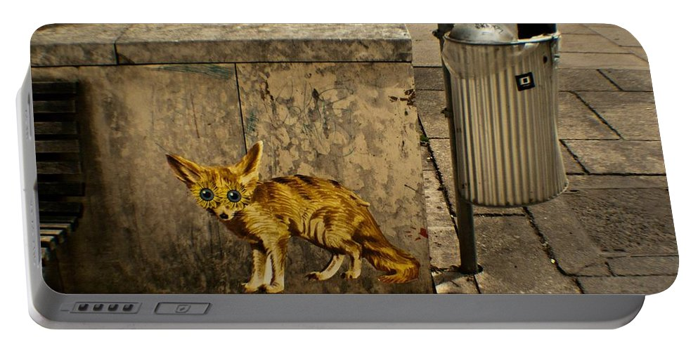 Fox Portable Battery Charger featuring the photograph Untitled by Kathleen Odenthal
