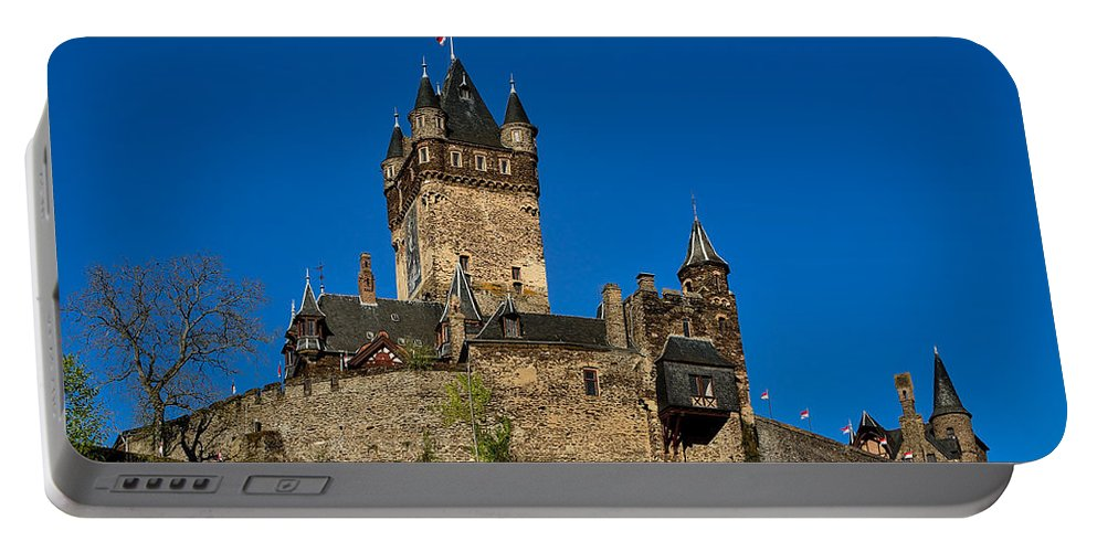 Cochem Portable Battery Charger featuring the photograph Village Of Cochem by TouTouke A Y