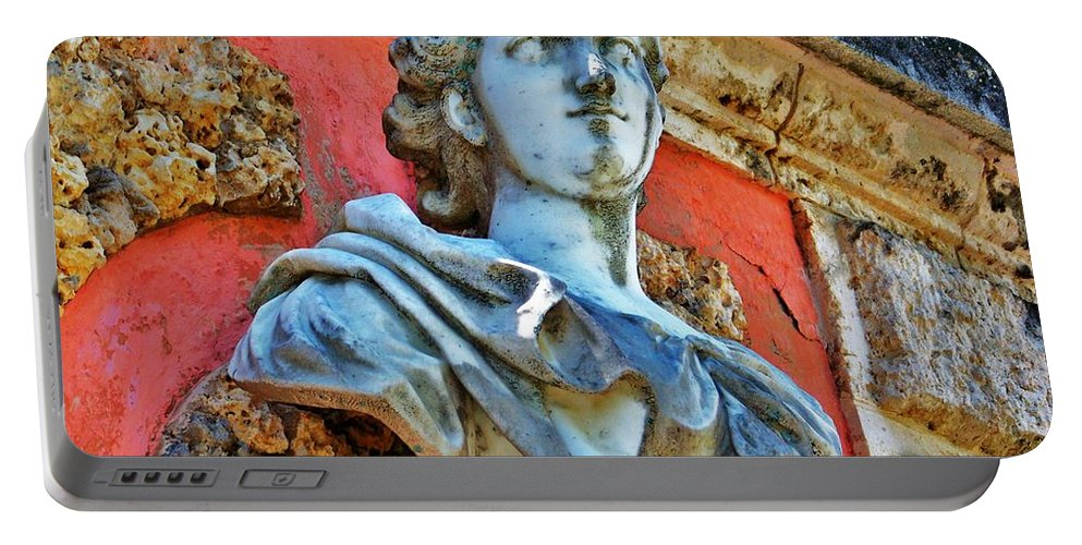 Vizcaya Portable Battery Charger featuring the photograph Vizcaya by Chuck Hicks