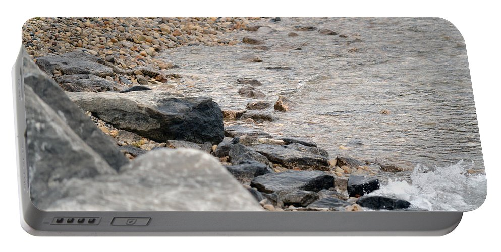 Water Portable Battery Charger featuring the photograph Waters Edge by Linda Kerkau
