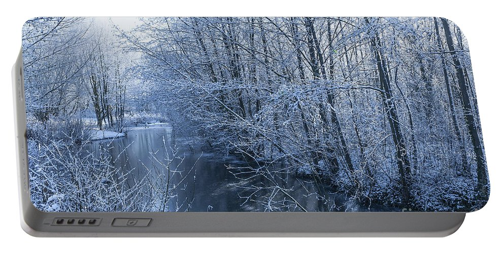 Birds Portable Battery Charger featuring the photograph Winter Wonderland by Svetlana Sewell