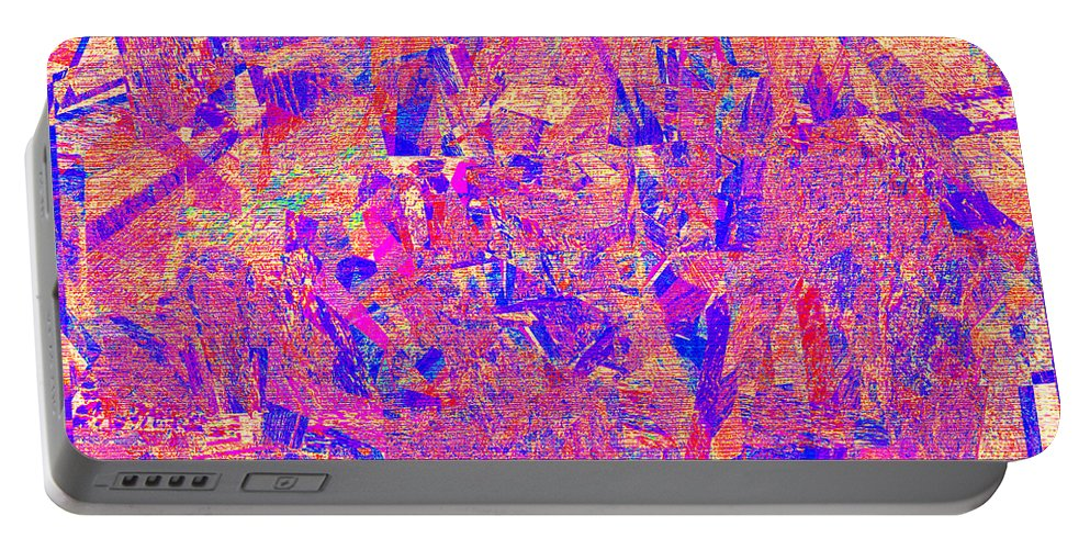 Abstract Portable Battery Charger featuring the digital art 1182 Abstract Thought by Chowdary V Arikatla